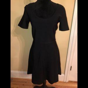White House black market black bandage dress